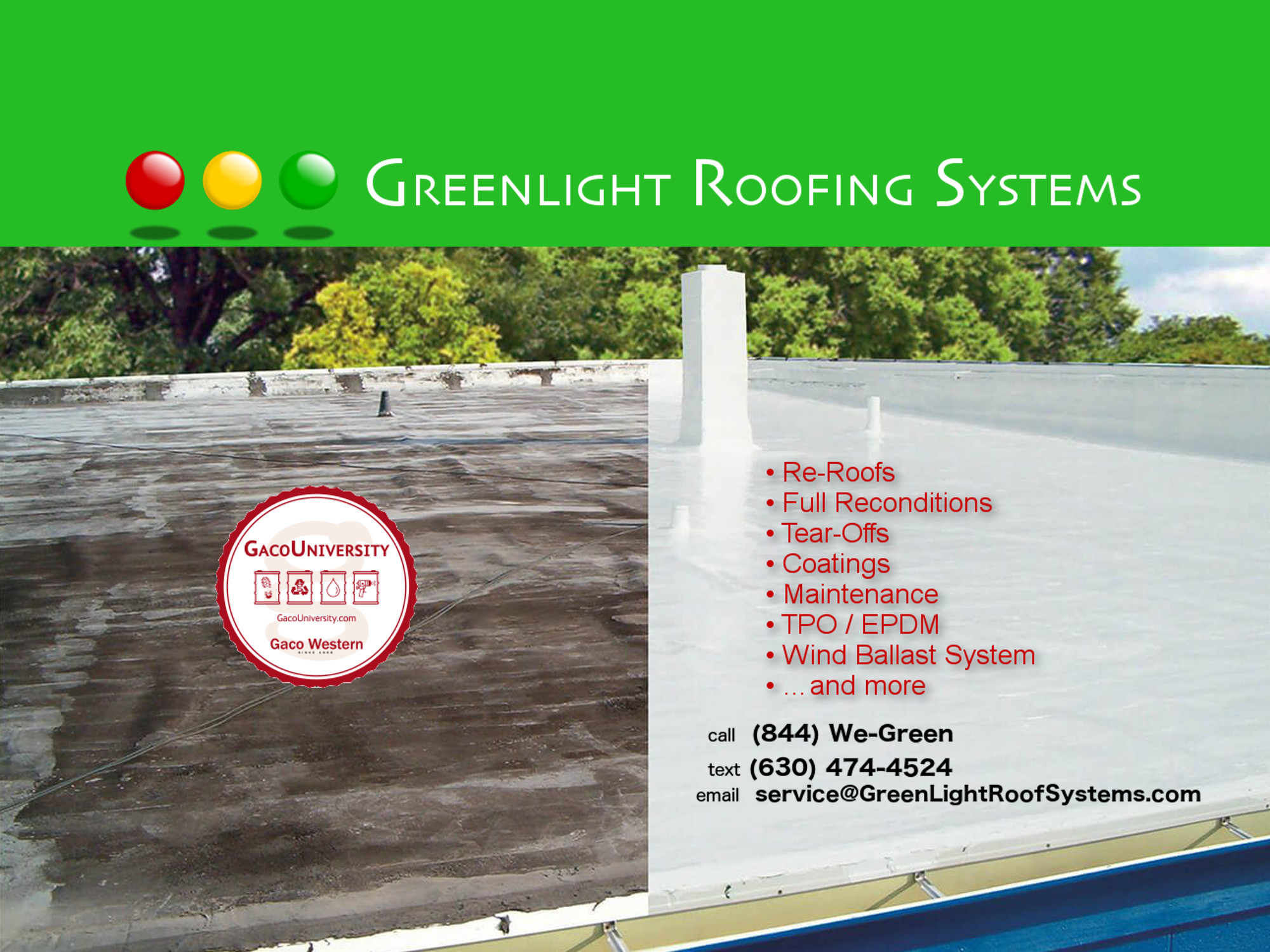 Greenlight Roofing Systems